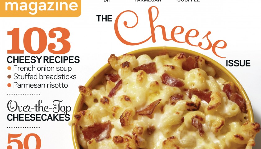 Food Network Magazine All-Cheese Issue